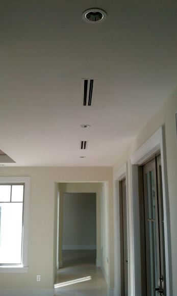 Air Mike Diffusers and Ductwork